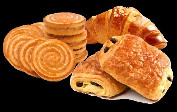 Croissant, brioches, prodotti dolciari